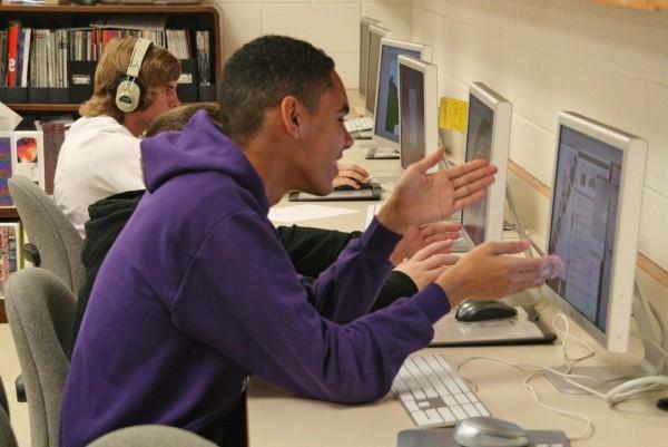 Einblicke in den Unterricht erhielt die Delegation beim Besuch am CS Monroe Technology Center.