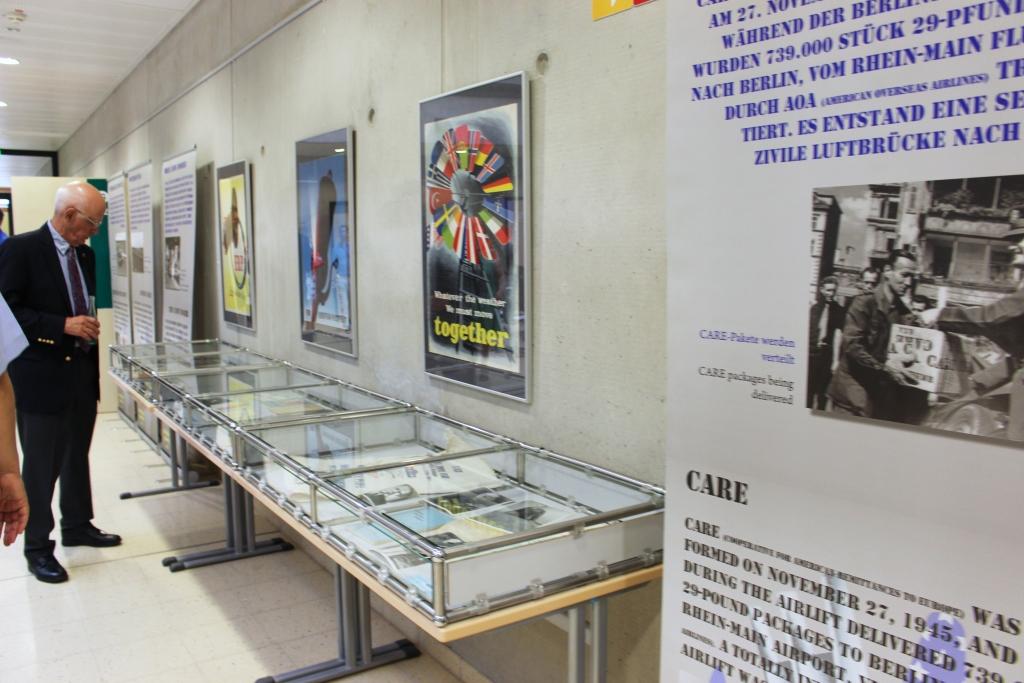Eine Ausstellung erinnerte an die Luftbrücke