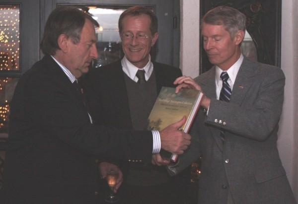 Landrat Gall, Staatskanzleiminister Wintermeyer, NVRC-Vorsitzender Parrish