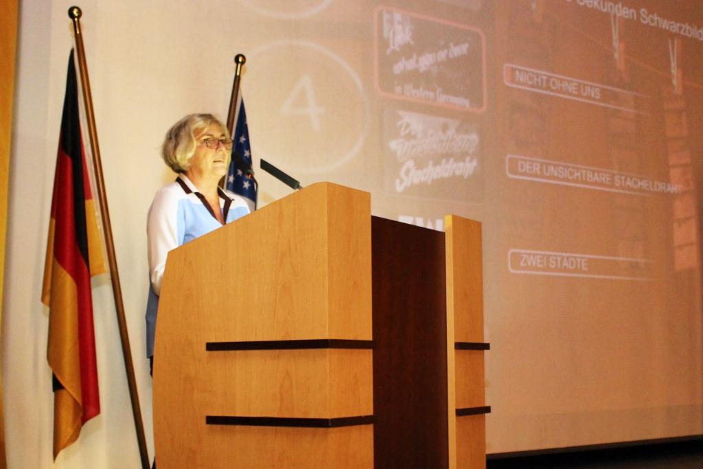 Die Filmwissenschaftlerin Claudia Dillmann präsentierte die Filme