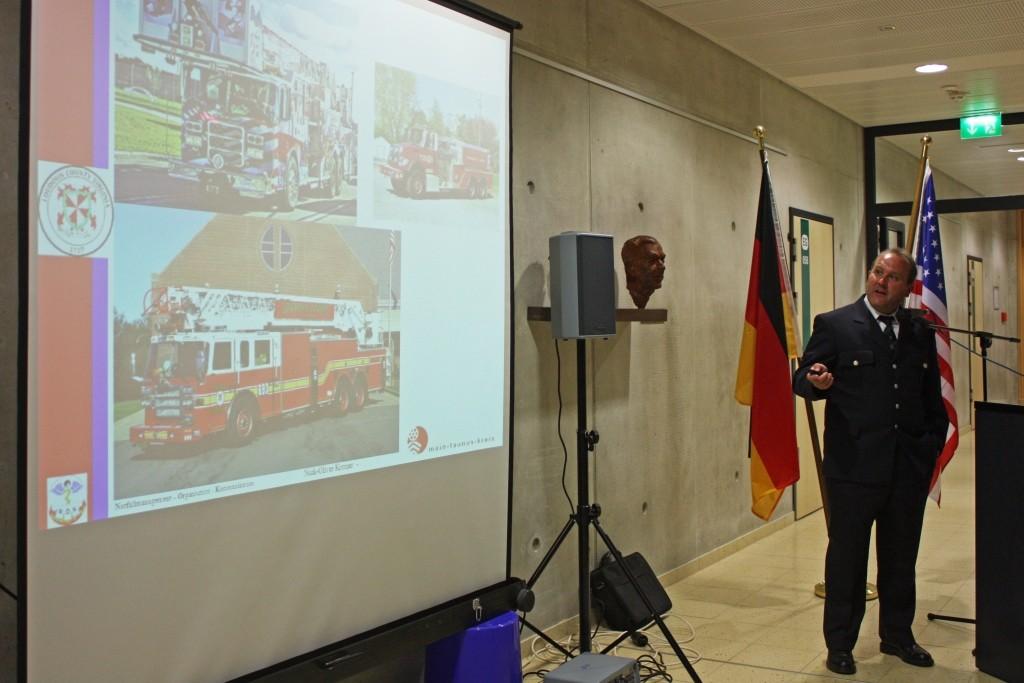 Stadtbrandinspektor Nick Kromer