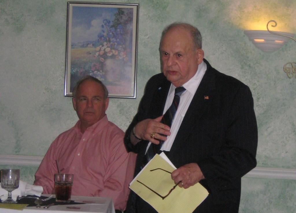 Mr. Vitale erzählt von seiner Zeit im Dienste George Marshalls.