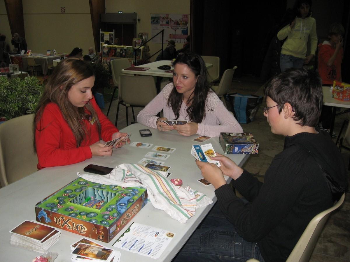 La MJC et les jeux de lettres