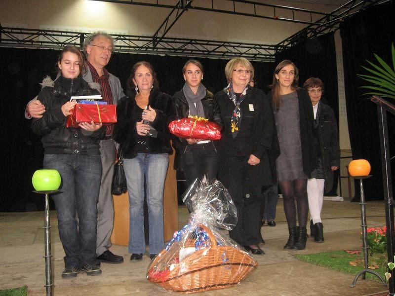 Les lauréats du concours de nouvelles avec Cécile Benoist