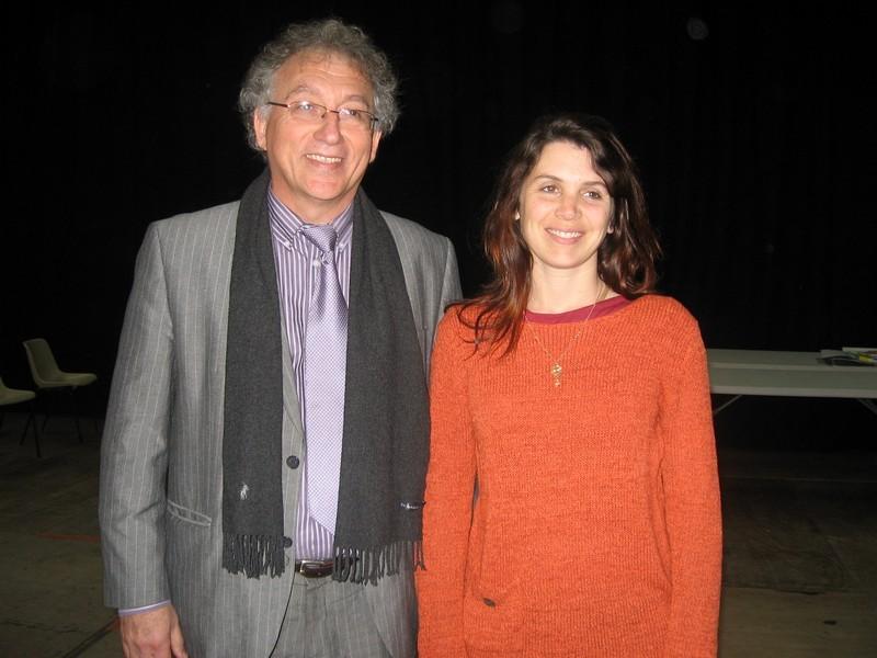 Anne Alassane et Mr Tène