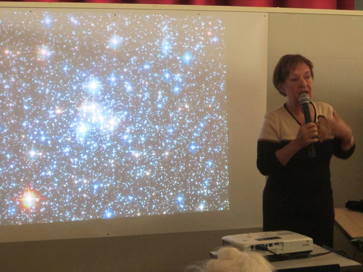 La musique dans les étoiles, Sylvie Vauclair