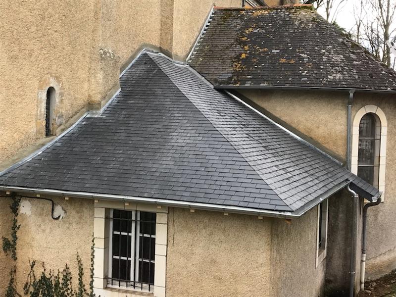 le toit après travaux