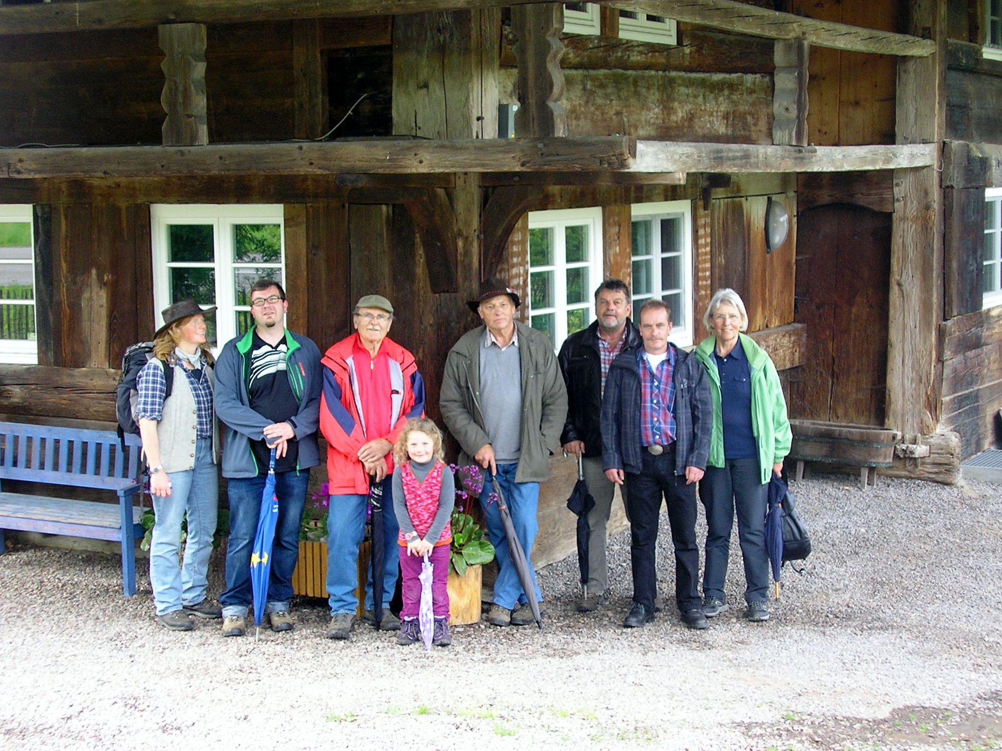 Ausflug der aktiven nach Buchenbach