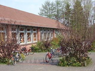 Blick in den Fahrrad-Innenhof