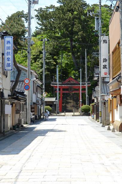 酒田/2012年新緑の日本一周・金環日食クルーズ 日枝神社