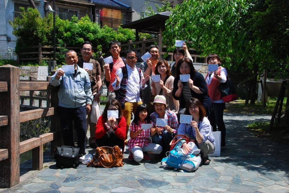 第2回 野外写真講座2013年5月12日(日) 伏見の酒蔵・旅籠寺田屋・十石舟の濠川など