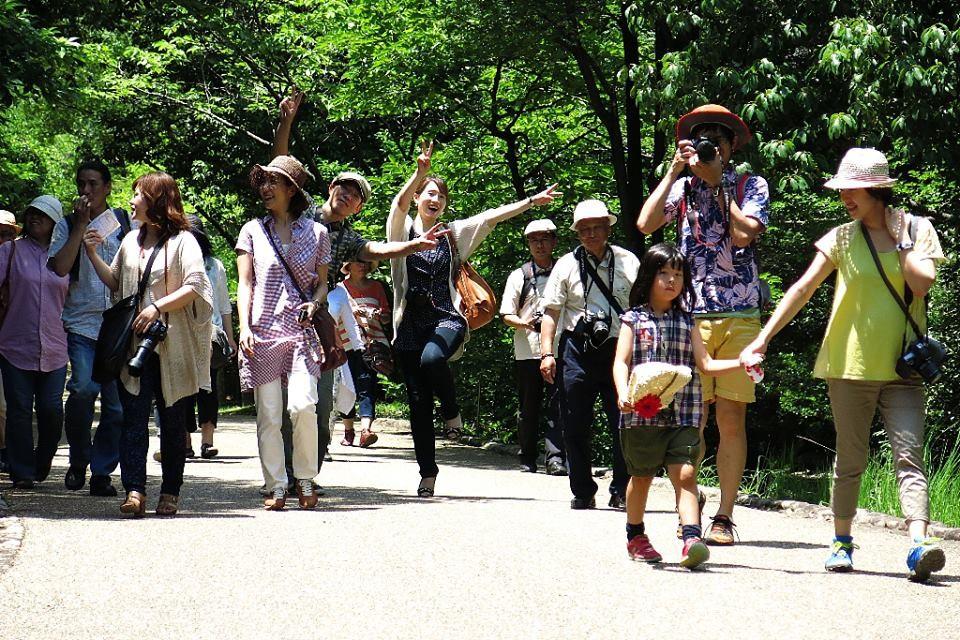 第3回 野外写真講座2013年6月29日(土) 万博記念公園