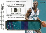 JAMAL MASHBURN / Timeline - No. T-JM  (#d 10/25)