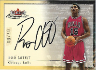 RON ARTEST / Autographics  (#d 7/50)