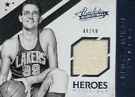 GEORGE MIKAN / Material Heroes - No. 34  (#d 44/49)