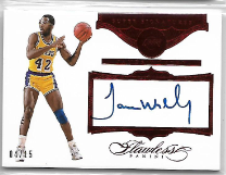 JAMES WORTHY / Super Signatures - No. SS-JW  (#d 4/15)