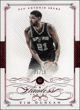TIM DUNCAN / Ruby - No. 7  (#d 9/15)