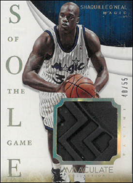 SHAQ O´NEAL / Sole of the Game - No. 17  (#d 40/55)