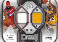 DAVIS  JOHNSON / Combo Materials - No. CM-DJ  (#d 282/499)