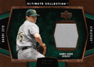 BARRY ZITO / Ultimate Game-Used Jersey - No. J-BZ2  (#d 10/10) !!! 8€ !!!