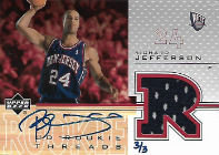 RICHARD JEFFERSON / BuyBack Jersey Auto  (#d 3/3)