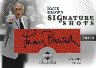 LARRY BROWN / Signature Shots - No. SS-LA