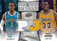 PAUL  JOHNSON / Dual Game Materials - No. DG-JP