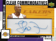LAMAR ODOM / Clear Commemoratives - No. HCC-LO