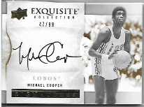 MICHAEL COOPER / Signatures - No. S-MC  (#d 47/99)