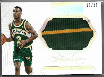 GARY PAYTON / Jumbo Patch - No. PT-GP  (#d 18/20)