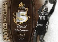 DAVID ROBINSON / Swatch of Class - No. SC-DR  (#d 20/25)