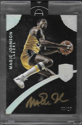 MAGIC JOHNSON / Auto - No. 16  (#d 9/10)