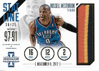 RUSSELL WESTBROOK / Stateline - No. 1  (#d 16/25)