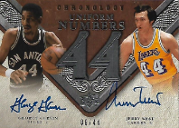 GERVIN  WEST / Uniform Numbers - No. UN-GW  (#d 6/44)