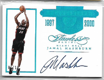 JAMAL MASHBURN / Transitions - No. TR-JM3  (#d 2/10)