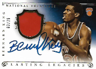 BERNARD KING / Lasting Legacies - No. LL-BK  (#d 3/25)