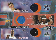 GARNETT ANTHONY KIRILENKO / Triple Threat - No. TT-KAG  (#d 250/450)