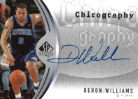 DERON WILLIAMS / Chirography - No. CH-DW
