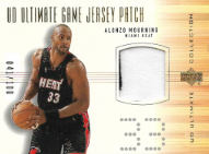 ALONZO MOURNING / UD Ultimate Game Jersey Patch - No. AM-P  (#d 41/100)