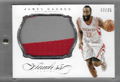 JAMES HARDEN / Jumbo Patch - No. 4  (#d 17/25)