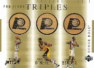MILLER O´NEAL BENDER / Fab Four Triples - No. RM/JO/JB