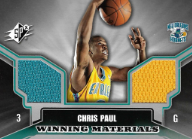 CHRIS PAUL / Winning Materials Rookie - No. WM-CP