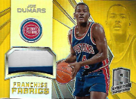 JOE DUMARS / Franchise Fabrics - No. FRA-JD  (#d 8/10)