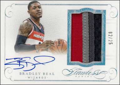 BRADLEY BEAL / Auto Patch - No. PA-BB  (#d 2/25)