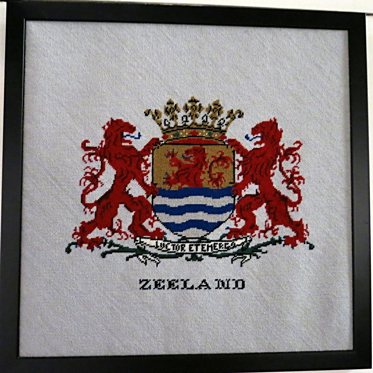 The Netherlands in Needlepoint