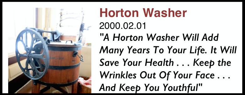 Horton Manufacturing Co. of Fort Wayne, Indiana manufactured the Horton's No. 2 Miracle.        c. 1911