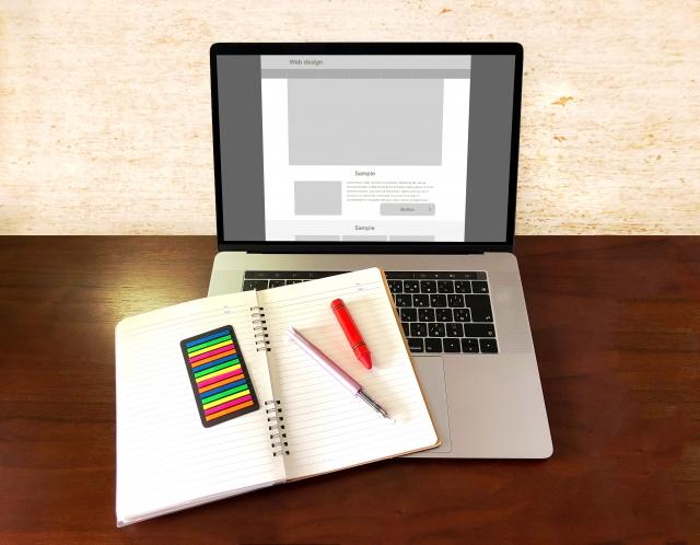 ホームページ新規設計の打ち合わせ