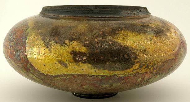 Raku Schalen metallisch irisierend Ø28