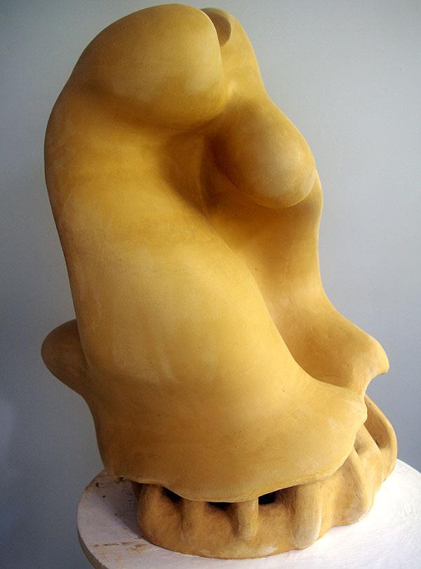 Skulptur in Arbeit..., 73×56×40