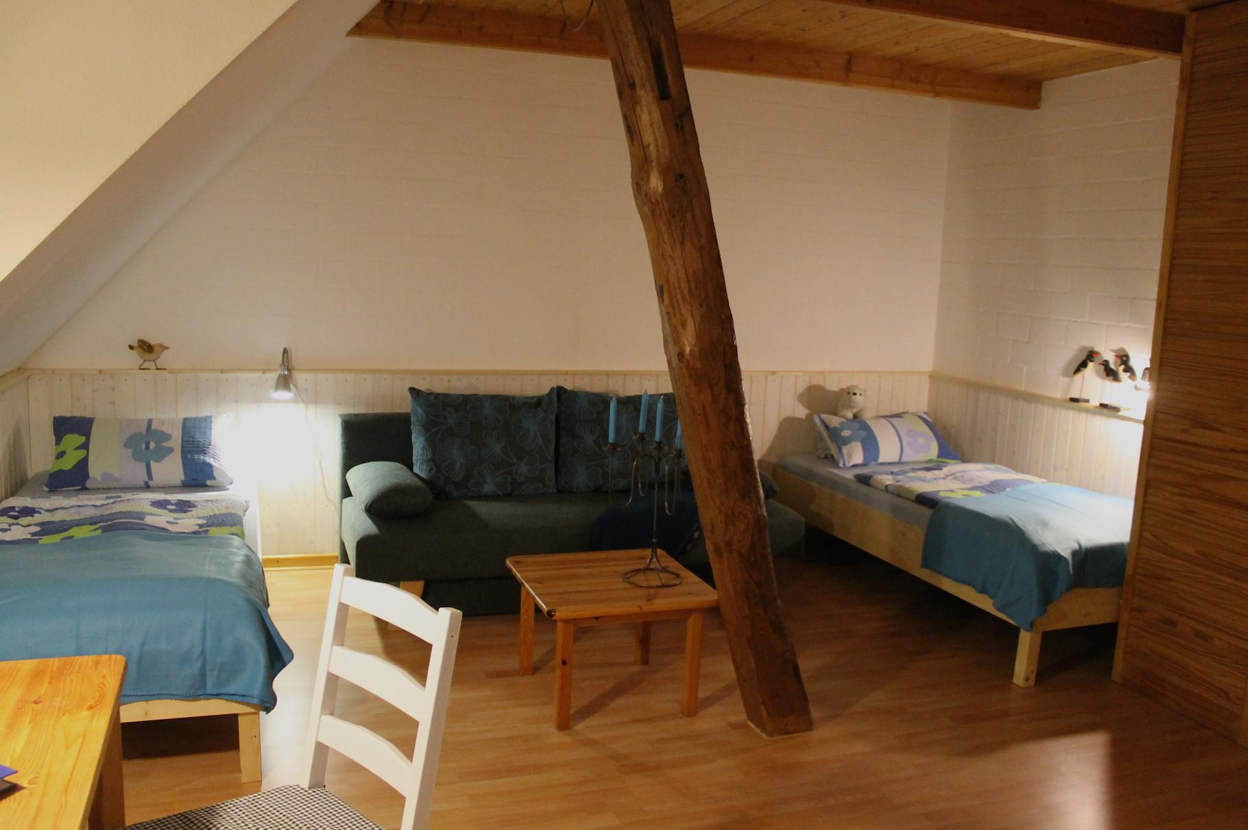 Wohnung 1, Schlafen